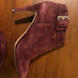 Suade Vince Camuto booties